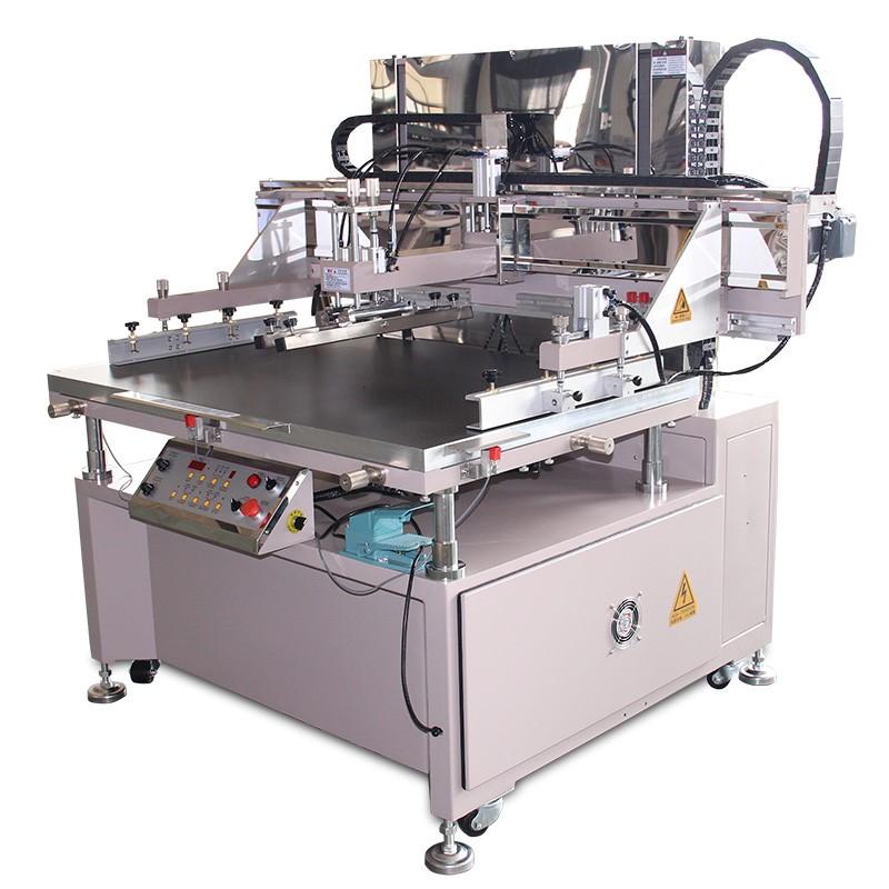 Common semi automatic vertical screen printing machine