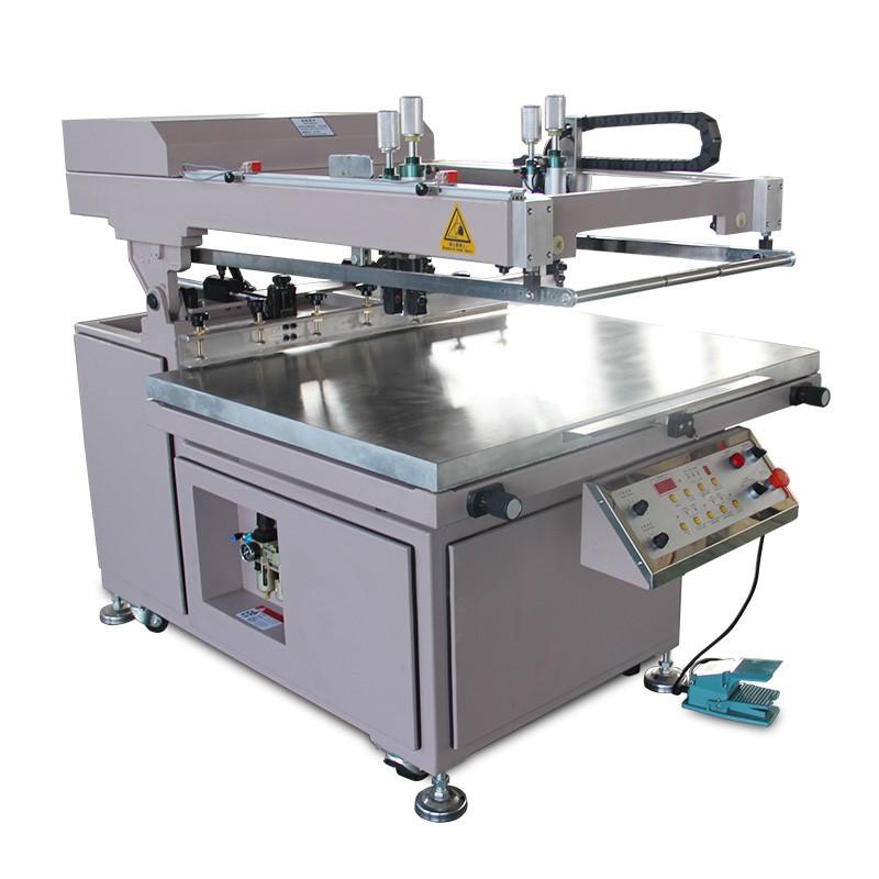 Ordinary semi-automatic clam shell screen printing machine